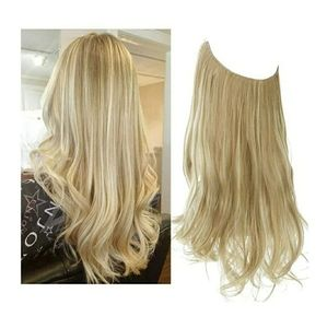 Synthetic Halo HairExtension DirtyBlonde